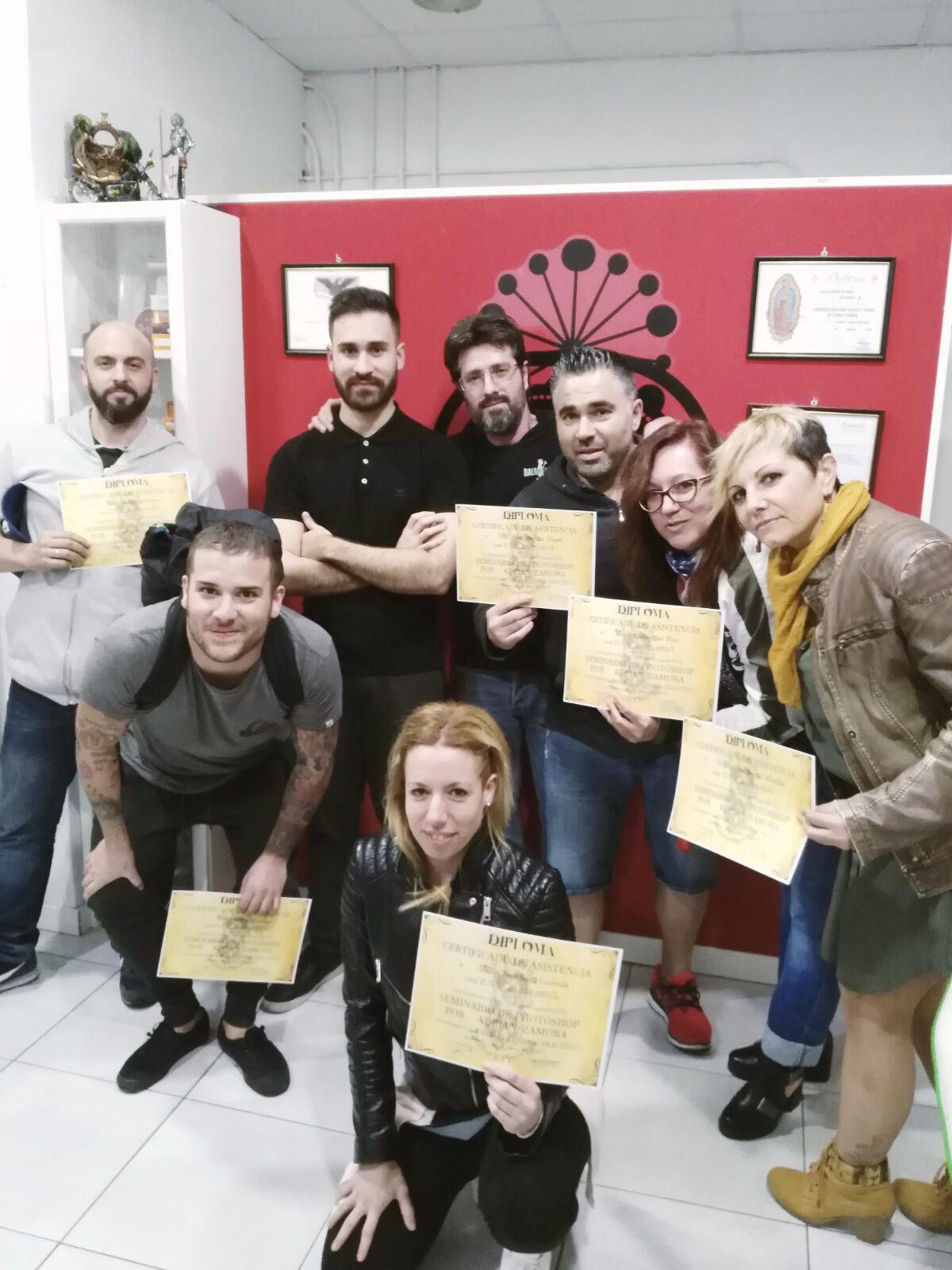 Resultados del workshop: Photoshop para tatuar