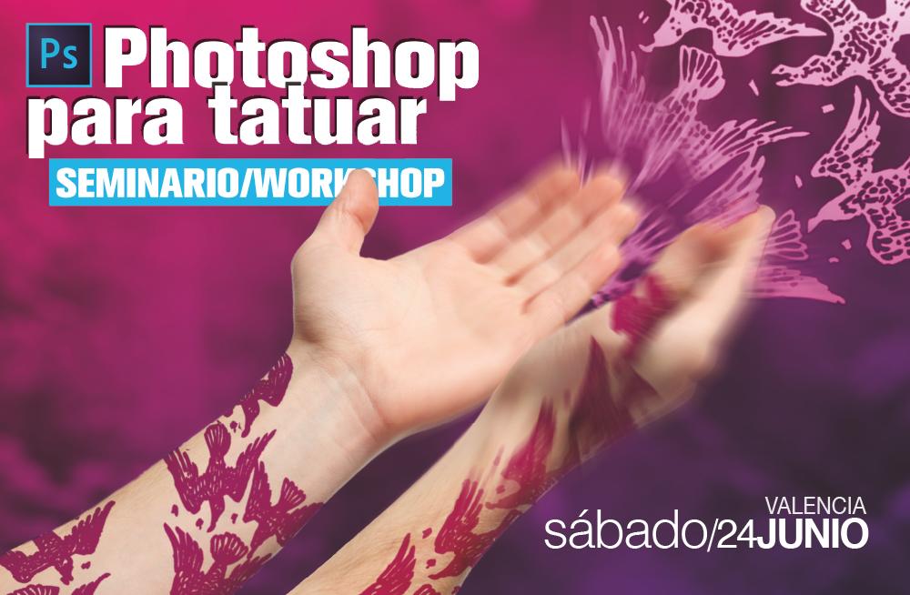 Photoshop para Tatuar II [WORKSHOP]